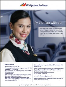 Cabin Crew Recruitment Ad Material