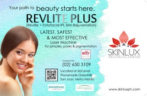 Revlite flyer layout design